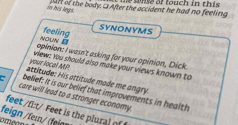 英英辞書で読む一語一語 depth