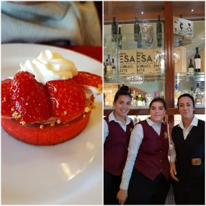 Versailles cake and staff