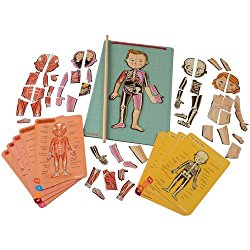 Christmas gift ideas for bilingual children - Janod Body Puzzle