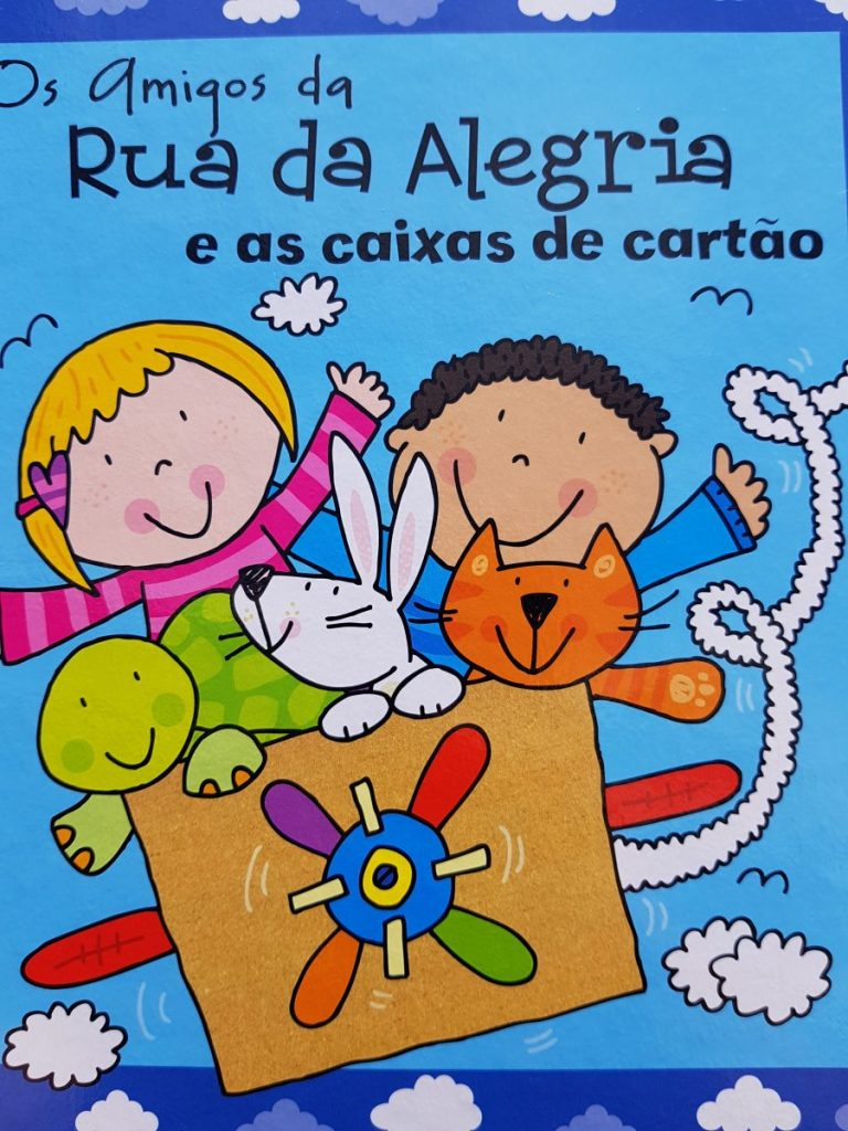 Children's book in portuguese Rua da Alegria