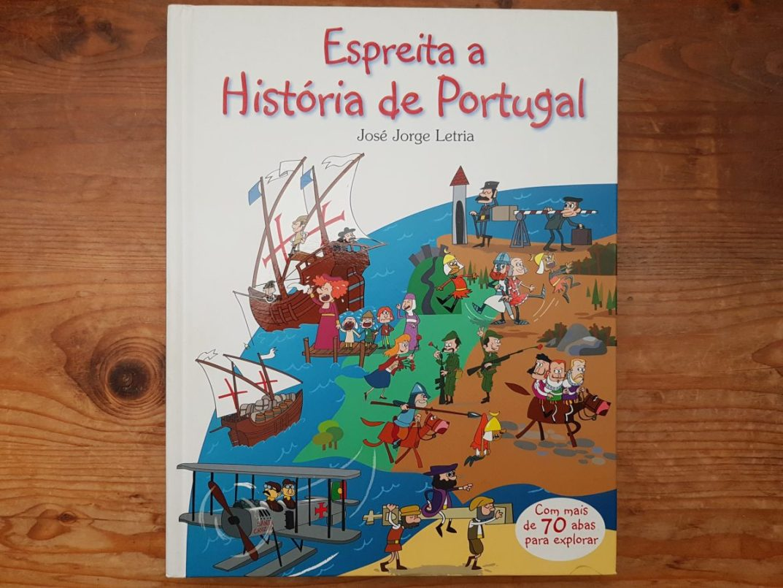 historia de portugal espreita cover