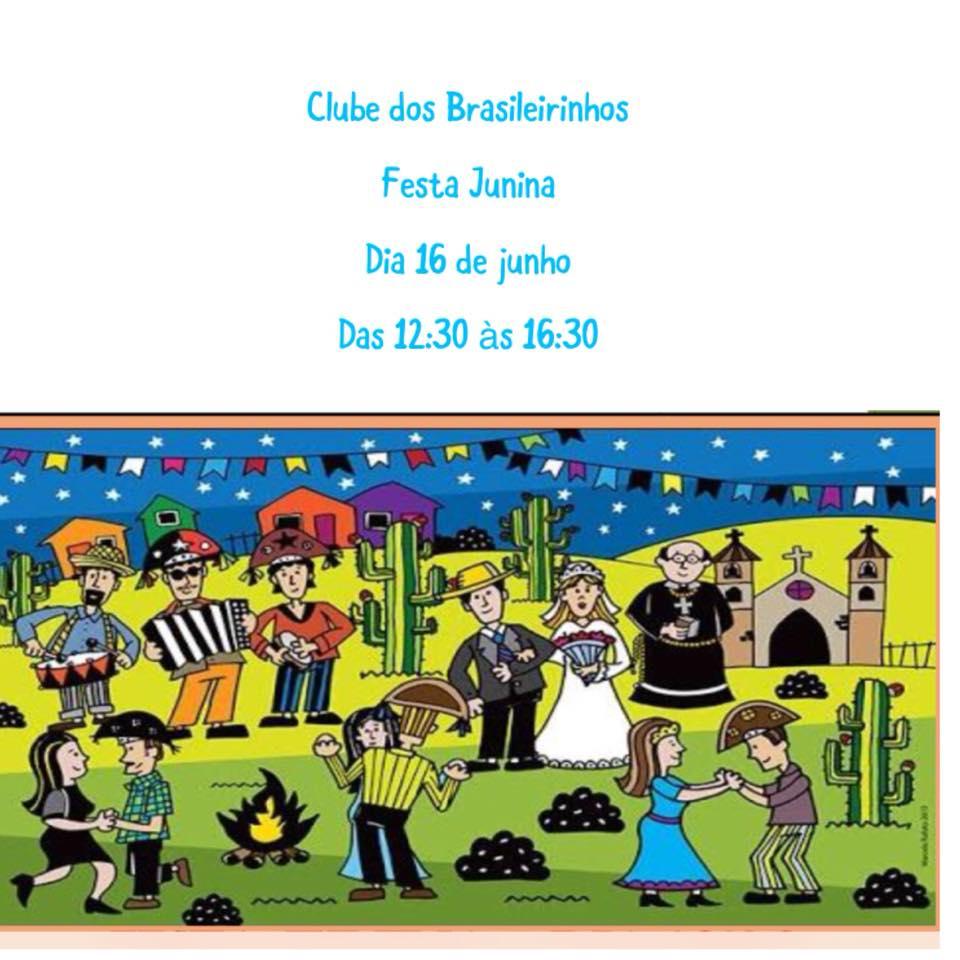 16 June Clube brasiledos brasileirinhos festa junina londres