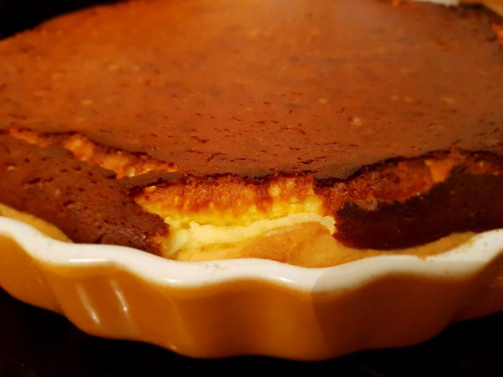 Ricotta Tart (Tarte de Requeijão) [RECIPE] with a bite