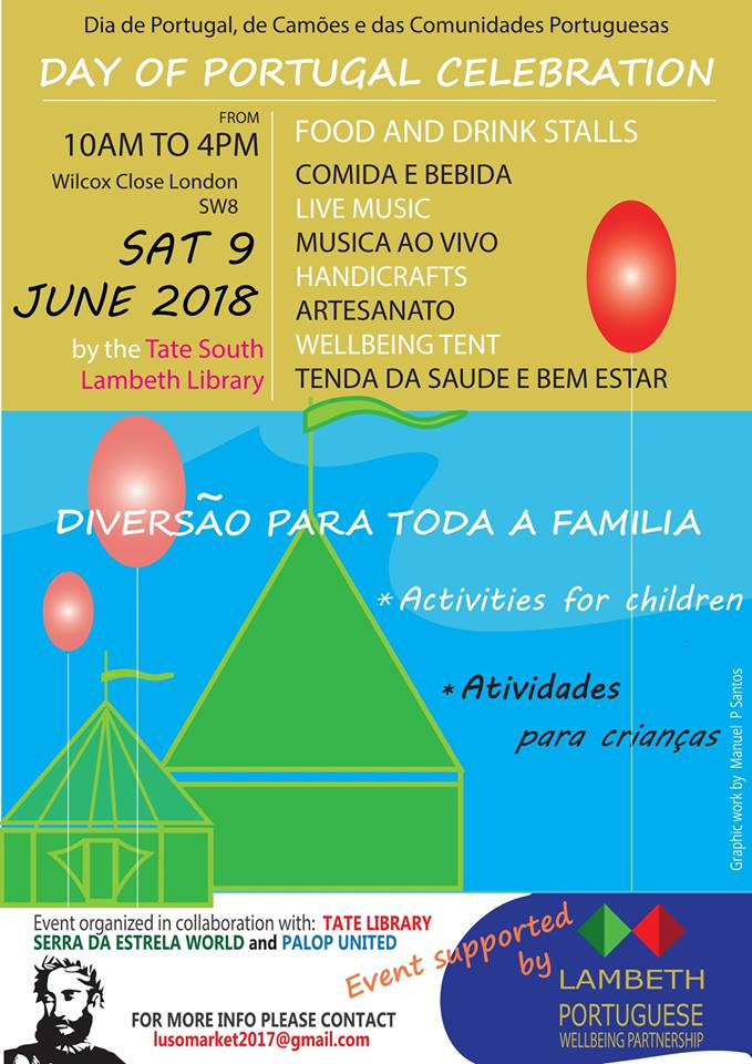 9 June dia de portugal little portugal stockwell london