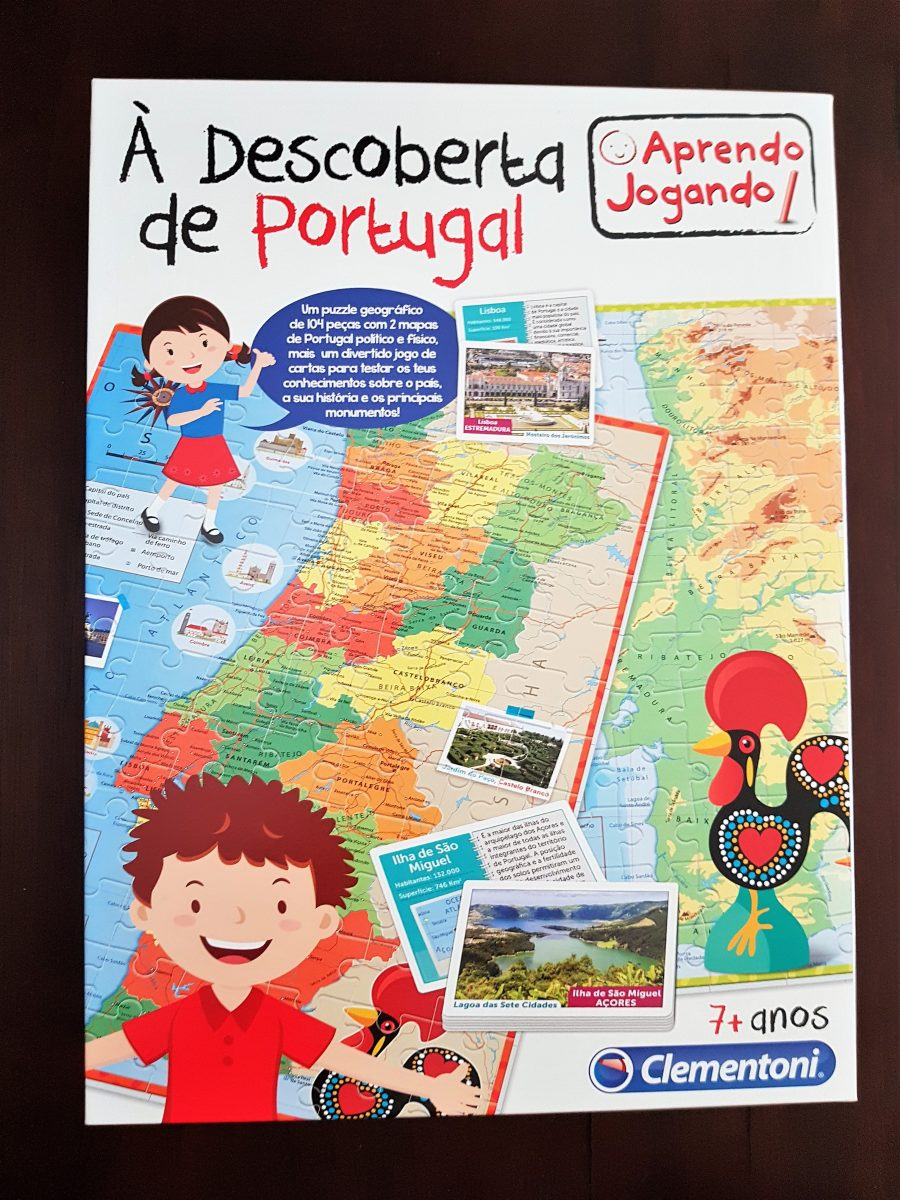 Clementoni puzzle map of portugal