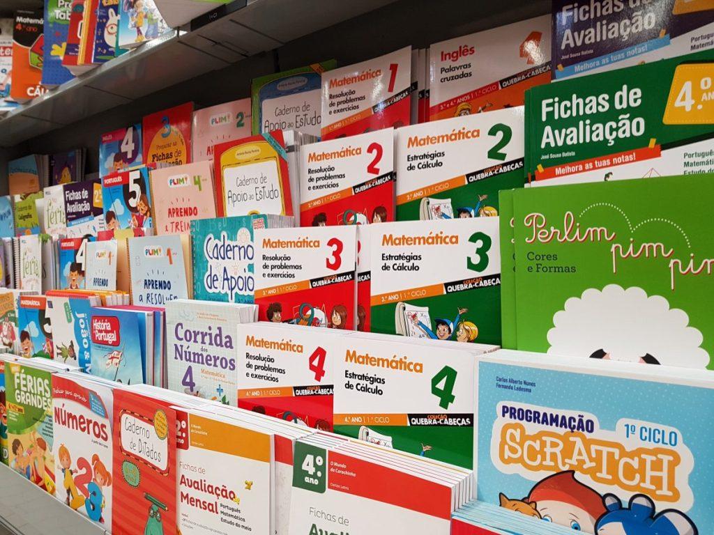 study books in the target minority language