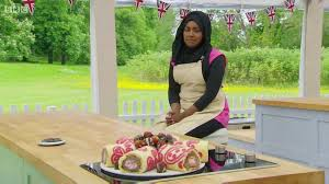 Nadiya at the GBBO