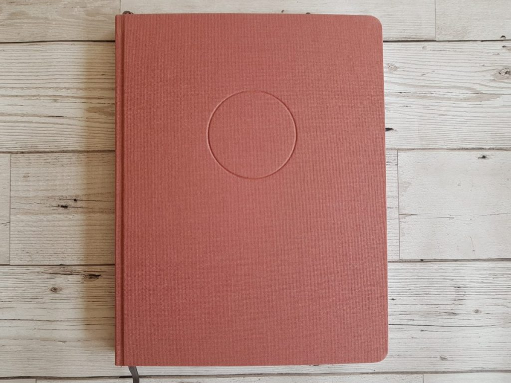 pink circle planner for a more productive and focused 2019