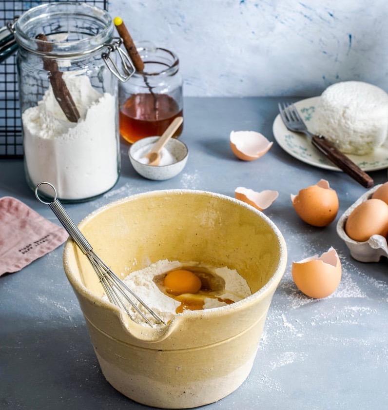 baking supplies on a countertop