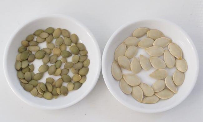 Seeds Pumpkin Vs Raw Roasted
