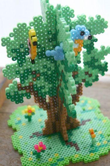 perles-a-repasser-arbre-3d