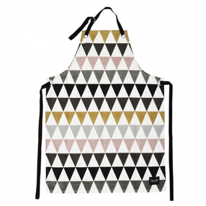 tablier-triangle-ferm-living-multicolore