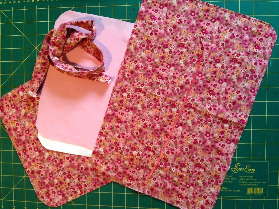 Pochette en tissu
