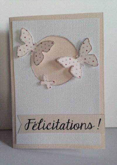 Carte félicitations nouveau bébé