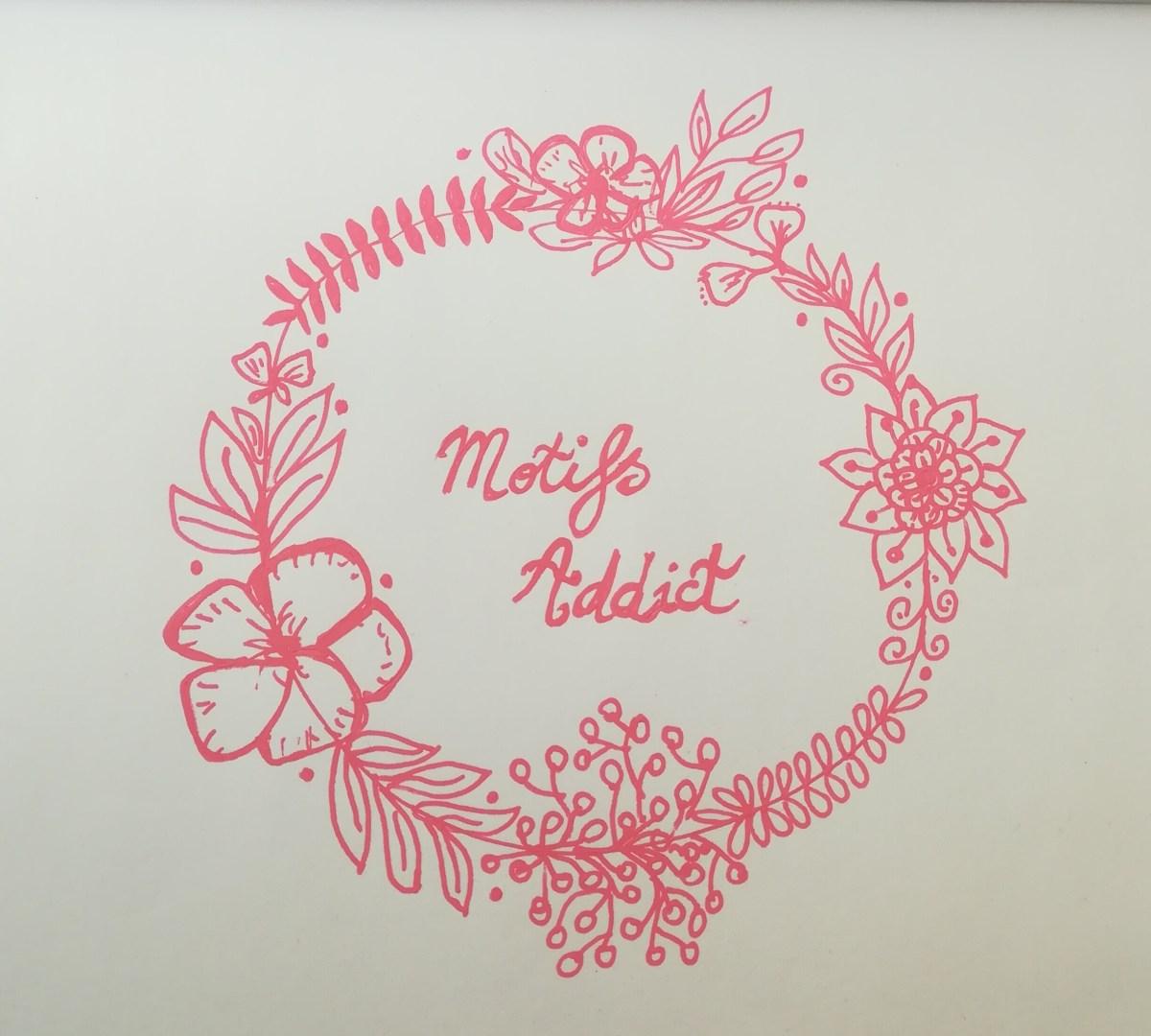 couronne fleurs motifs addict