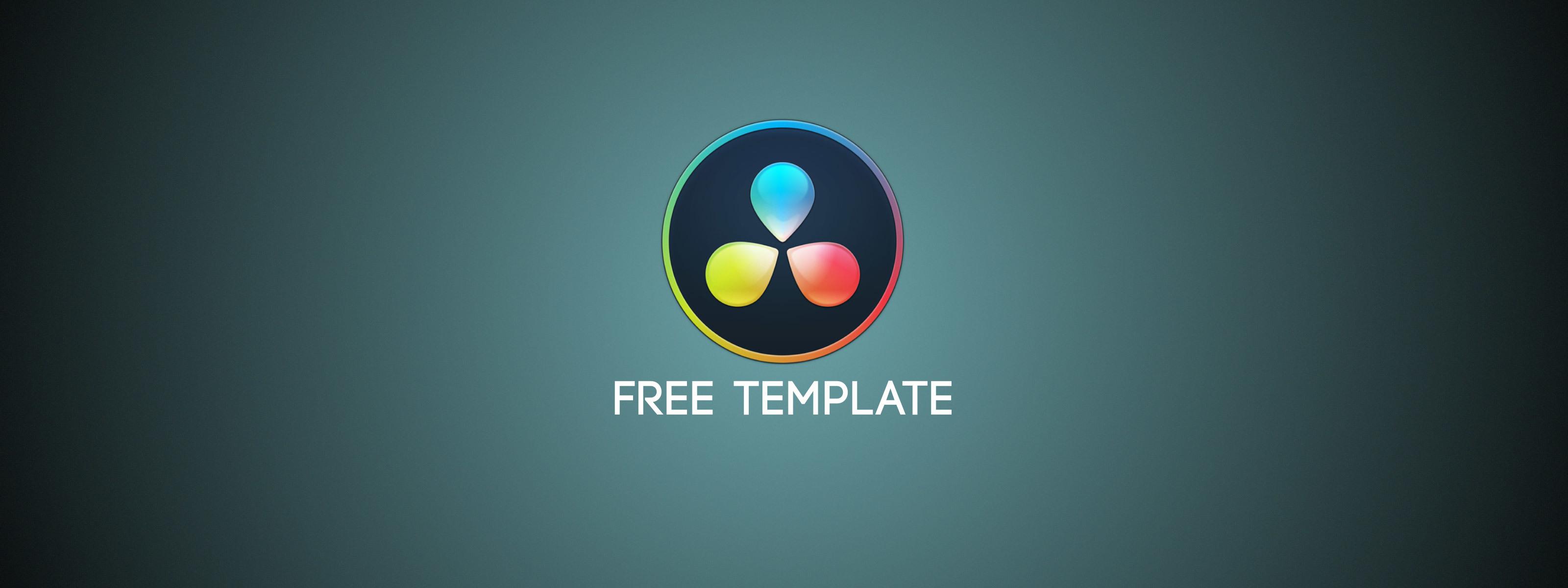 Free Davinci Resolve Title Template Motion Array