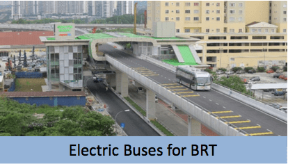 Electric Mobility Prasarana Bus Rapid Transit electric bus