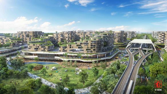 Urban Mobility: TOD SIngapore's HDB Tengah development