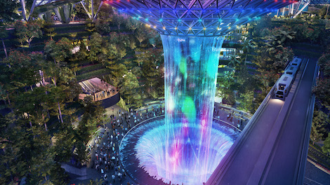 Singapore Changi Airport Unveils Canopy Park At Jewel Majestic Rain Vortex CapitaLand Mall Urban Mobility