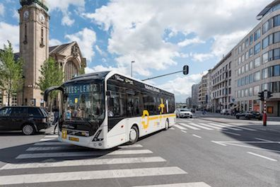 Volvo's Electric Buses Starts Operation in Luxemburg Volvo 7900 electric vehicle sustainable urban mobility