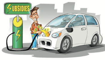 Electric Vehicle Subsidies is the Most Expensive Way to Reduce GHG Emissions EV car sales Canada Malaysia sustainable urban mobility Montreal Economic Institute