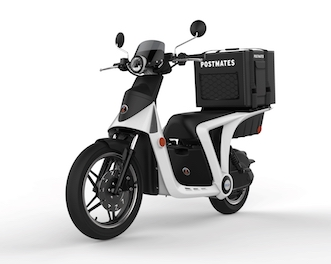 GenZe and Postmates Join Forces to Build Electric Vehicle Delivery Fleet electric bike scooter logistics electric urban mobility