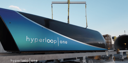 Hyperloop One Achieves Successful Full Systems Test Passenger cargo pod urban mobility