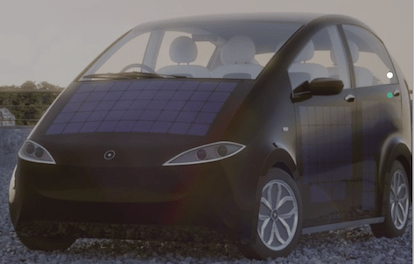Sono Motors Sion solar electric car launch event in Munich on car ride sharing platform mobility as a service urban mobility