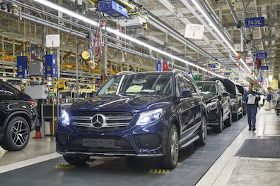 Mercedes-Benz to Produce EQ Brand Electric Cars in the U.S.Mercedes-Benz to Produce EQ Brand Electric Cars in the U.S. electric vehicle urban mobility Tuscaloosa