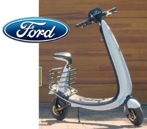 OjO Electric To Offer Ford-Branded Line Of Electric Scooters personal urban mobility