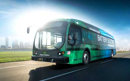 Proterra Introduces the DuoPower Drivetrain for its Catalyst Electric Buses at APTA sustainable urban mobility public transportation