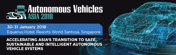 Autonomous Vehicles Asia Conference 2018 urban mobility