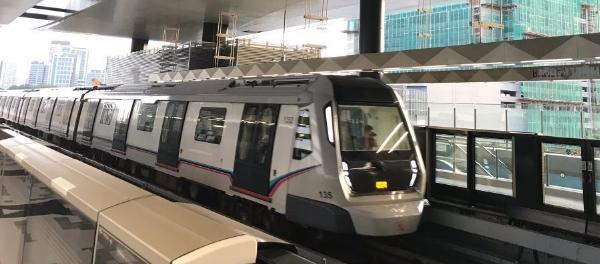 Malaysia Public Transportation Push increase capacity urban mobility MRT station rail transit