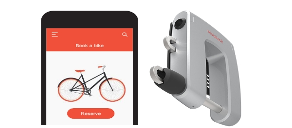 Mobilock World Safest Electronic Bike Lock for Shared Bicycles bike sharing iot