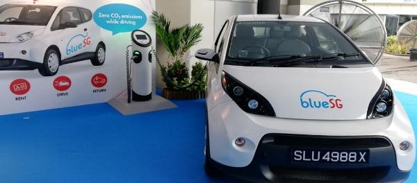 Potential Speed Bumps Ahead For BlueSG EV electric Car Sharing Fleet urban mobility
