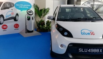 Potential Speed Bumps Ahead For BlueSG EV electric Car Sharing Fleet urban mobility