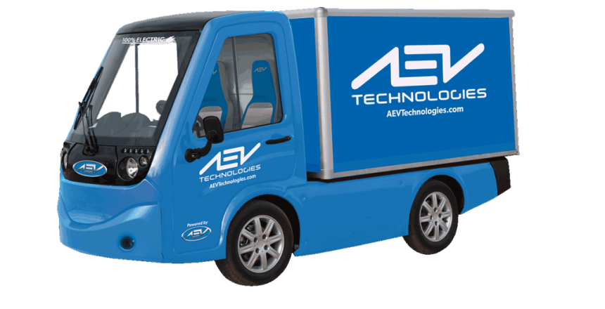AEV Technologies Unveils New Electric Vehicle Lineup At CES 2018 411 electric truck EV pickup
