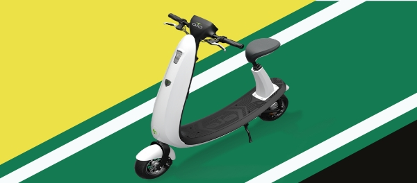 OjO Electric Introduces New Lineup Of Ford Branded Smart E-Scooters At CES 2018 sustainable personal urban mobility EV electric scooter PMD
