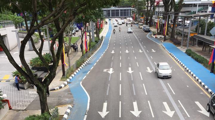 Kuala Lumpur Bicycle cycling Lanes need educate awareness to motorists