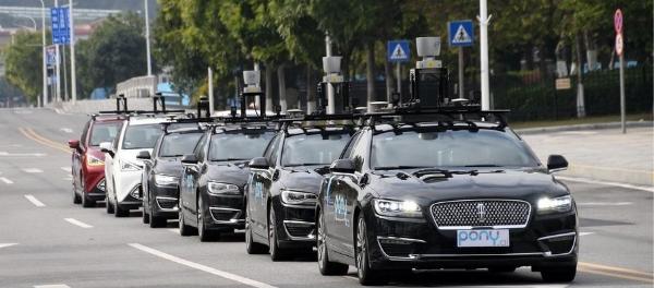Pony.ai Launches Autonomous Vehicle Ride Sharing Fleet in China Guangzhou