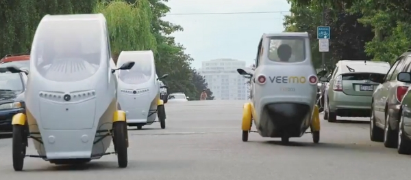 VeloMetro Unveils World_s first Electric-assisted Velomobile-sharing service at UBC NMT electric pedal bike sharing sustainable urban mobility