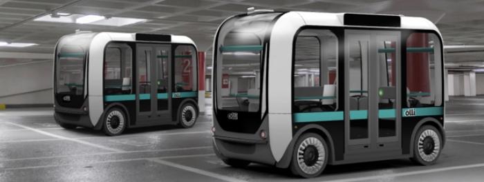 Autonomous Shuttle Startup Local Motors announces partnership with Robotic Research urban mobility Olli autonomous self driving shuttle