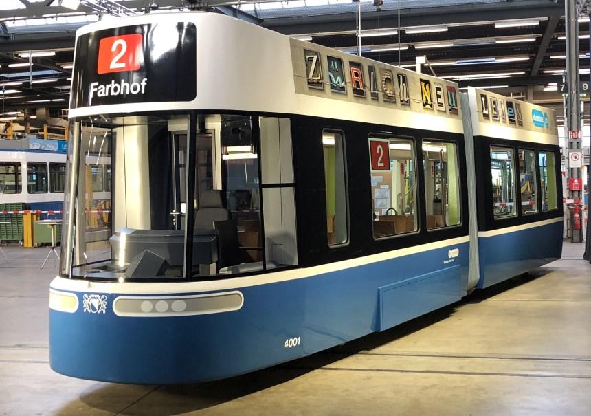 Bombardier Unveils New FLEXITY Zurich Tram Design