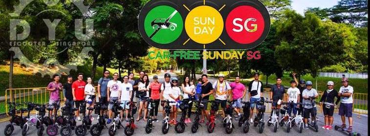 DYU Electric Smart Bike Starts Singapore Operation Center car lite free sustainable urban mobility personal device