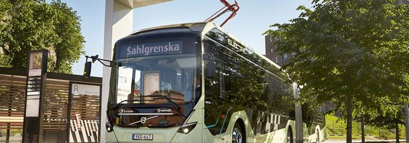 Volvo Ocean Race Signals the Start for Electric Articulated Buses in Gothenburg sustainable urban mobility public transport