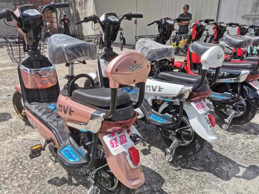 ATV Malaysia electric bicycle 2 seater less than RM1000 2 years warranty