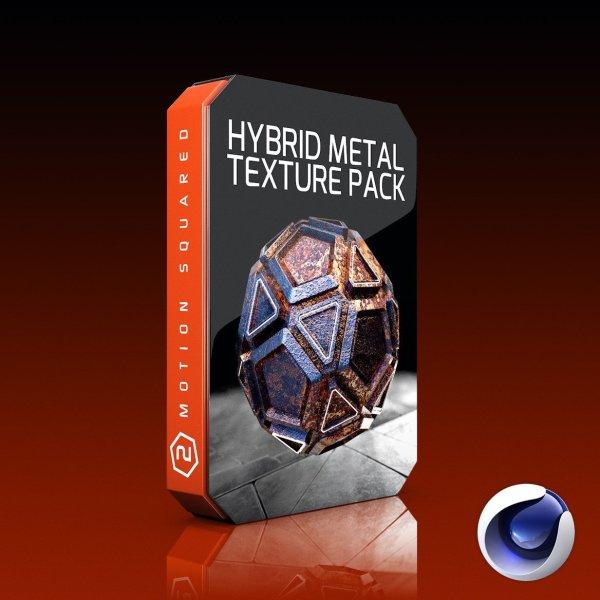 Cinema 4D Hybrid Metal Texture Pack