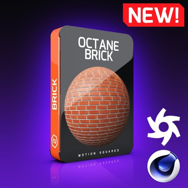 Octane Brick Texture Pack for Cinema 4D
