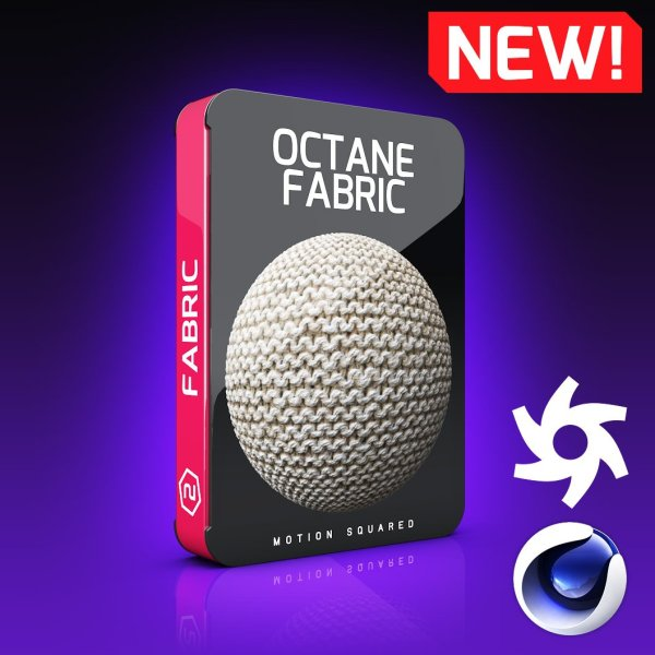 ctane Fabric Texture Pack for Cinema 4D