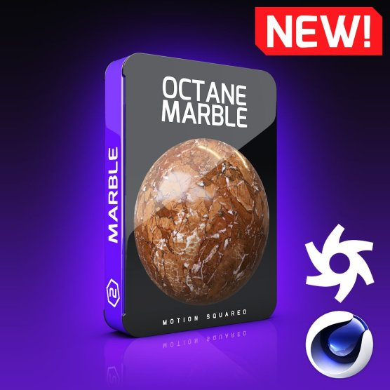 Octane Marble Texture Pack for Cinema 4D